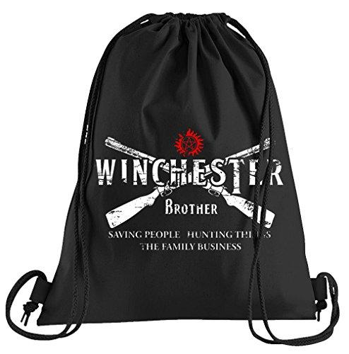 T-Shirt People Winchester Bros 2 Guns Sportbeutel – Bedruckter Beutel – Eine schöne Sport-Tasche Beutel mit ()