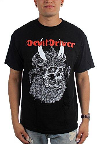 Witch DevilDriver-King-Maglietta da uomo nero Large