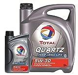 Total  Quartz Ineo Long Life 5W-30 Motorenöl, 6 Liter (5L+1L)