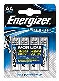 Energizer Ultimate Mignon Lithium-Batterie AA Mignon 1,5 V 4er-Pack