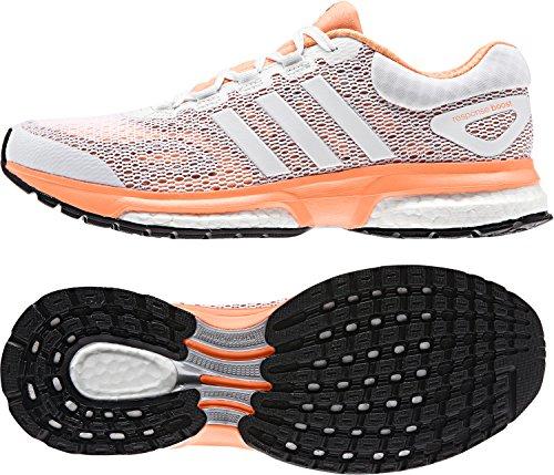 adidas Response Boost W Damen Laufschuhe CBLACK/FTWWHT/BLIPUR