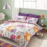 BLAZE bed set by Zandra Rhodes multi bright coloured modern design (Single)