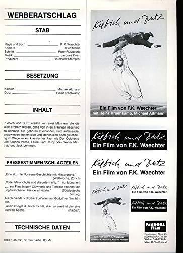 Kiebich und Dutz - Werberatschlag