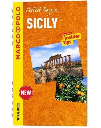 Sicily Marco Polo Travel Guide - with pull out map (Marco Polo Spiral Guides)
