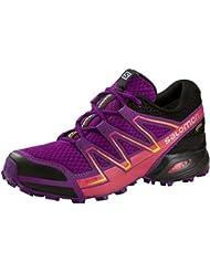 Salomon Speedcross Vario Gtx? W - passion purple/black/gecko gre