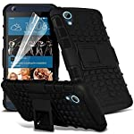 This unique Hard Shock Proof case incorporates beautiful design and robust protection. Keeps your HTC Desire 626 626G+ compact and sleek. Easy access to all buttons, headphone jack and charging port. Protects from scratches, fingerprints, falls and d...
