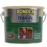 Bondex Express Teak-Öl, Farbton: teak 2,5 Liter