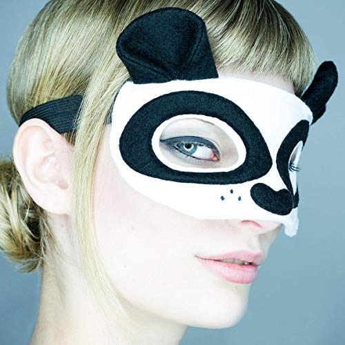 Maske *Panda Bear* - Maske Panda Bär | Karneval | Fasching | Panda Kostüm | Cosplay | ()
