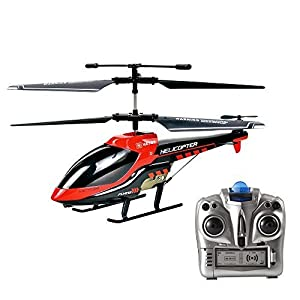 VATOS RC Helicopter, Remote Control Helicopter Indoor 3.5 Channels Hobby Mini RC Flying Helicopter 2 Blades Replace Included RC Plane Toy Gift for Kids Crash Resistance Consistent?Built-in Gyro from VATOS