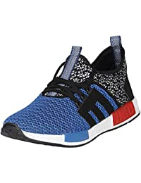 UrbanwhiZ Stylish White Black Blue Grey Red In Color Casual Sports Mesh Lace-Up Derby Shoes For Men