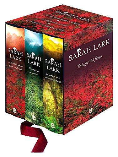 Saga del Fuego: Estuche con: La estación de las flores en llamas | El rumor de la caracola | La leyenda de la montaña de fuego (Grandes novelas) por Sarah Lark
