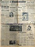 Telecharger Livres HUMANITE L du 28 01 1949 SCHUMAN BEVIN ET SPAAK DISCUTENT A LONDRES LEURS PLANS DE GUERRE DANS LE CADRE DU PACTE ATLANTIQUE PROCES DE KRAVCHENKO MORIN EST CONTRAINT PAR LA POLICE DE MOCH DE MONTER A 4 PATTES LES ESCALIERS DE L HOPITAL LA SANTE DE L HUMANITE PAR DE SUGNY (PDF,EPUB,MOBI) gratuits en Francaise