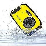 PowerLead 2.7 Camera pollici LCD della fotocamera digitale 16MP 10m macchina fotografica subacquea impermeabile + 8x Zoom