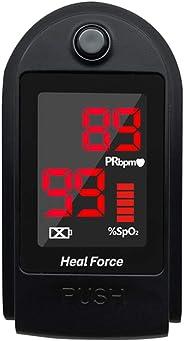 DAXG Pulsossimetro, Pulsiossimetro da Dito, saturazione di Ossigeno nel Sangue, cardiofrequenzimetro
