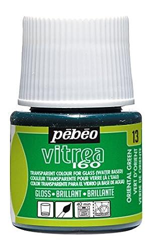 Pebeo 45 ml Vitrea 160-Glossy Glass Paint Bottle, Oriental