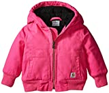 Best Carhartt Coats And Jackets - Carhartt Baby Girls' Wildwood Jacket, Pink, 6 Months Review