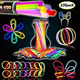 Best Luces del partido - BESTZY 100pcs Palo de Luz Partido Pulseras Luminosas,Glowsticks,fluos Review