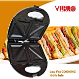 [Sponsored]Vibro 2-Slice SANDWICH MAKER/Grill Toaster (750W)
