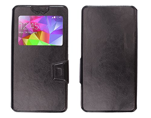 Shopme Premium PU leather flip cover for Panasonic P11 (Maxium Protection from scratches,damage,spillages, No need for tempered glass,100% glass protection, Premium PU Leather Flip cover)  available at amazon for Rs.199