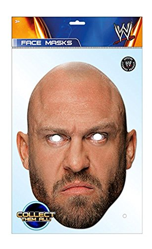Ryback WWE Mask, Mask-arade Face Card Mask, Character Fancy Dress