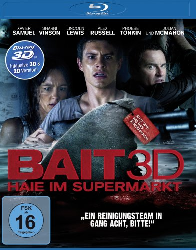 Bait - Haie im Supermarkt (inkl. 2D-Version) [3D Blu-ray] (Bait Shop)