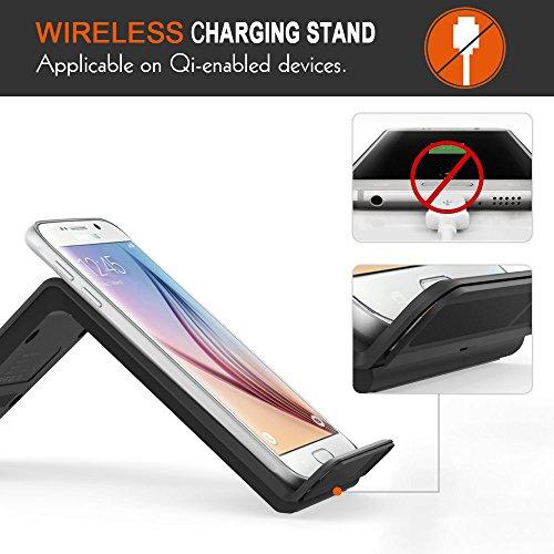 iVoler Caricabatterie Wireless Ricarica Rapida 10W Fast Charge per Galaxy S8 S8+ S7 S7 Edge Standard per Nexus Xperia Caricatore Senza Fili