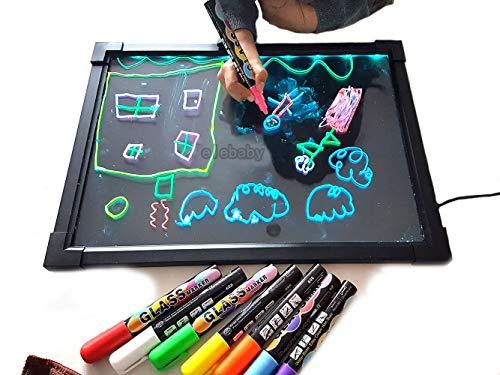 Art Craft Led Drawing Message Board Sensory Illuminated