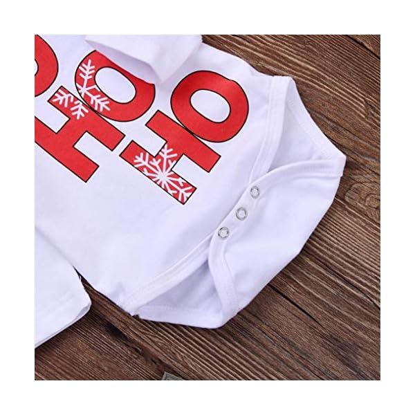 K-youth Ropa Bebe Nino Recien Nacido Otoño Invierno Infantil Body Bebe Niña Conjunto Bebé Mono Navidad Papá Noel Letra… 5