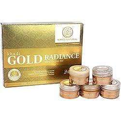 Khadi Natural Gold Radiance Mini Facial Kit , 75 g