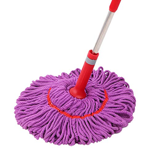 DIANZI Scopa Twist Water Mop Home Mop Rotante A Mano Libera Lavaggio Mop Sostituzione Mop 1, A