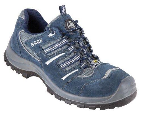 BAAK, 7003, Scarpe di sicurezza Paul Sport S1P, scarpe ESD, taglia 40, blu