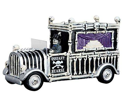 Lemax - Hearse of Bones - Leichenwagen - Spooky Town - Polyresin - Figuren & Zubehör für Halloween