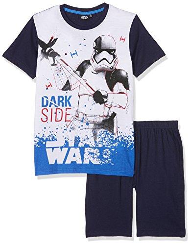 STAR WARS 173417 Ensemble de pyjama Garçon NA Bleu (Bleu Marine Bleu Marine) 6 ans (Taille fabricant:6 ans)
