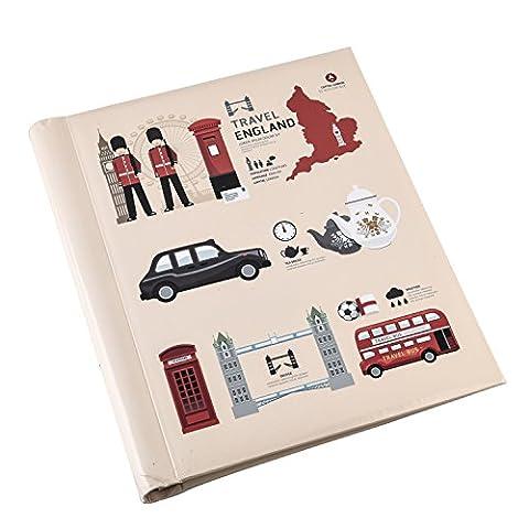 Arpan Large London Icons Design Travel Self Adhesive Photo Album