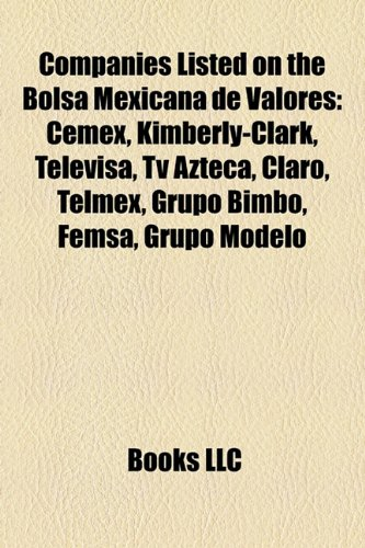 companies-listed-on-the-bolsa-mexicana-de-valores-cemex-kimberly-clark-televisa-azteca-claro-tracfon