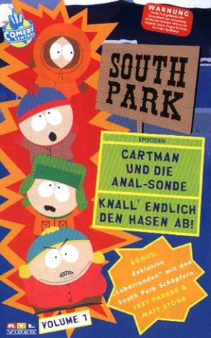 South Park 01: Cartman und die Anal-Sonde / Knall den Hasen ab! [Alemania] [VHS]