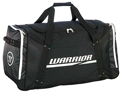 Warrior Covert Wheelbag Senior Black/White/Silver