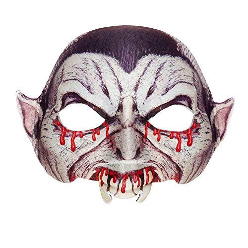 Widmann 05703 Maske Vampir, One Size (Duo Kostüm Für Erwachsene)
