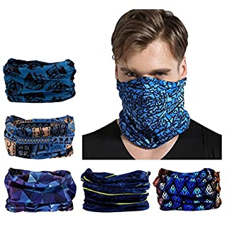 Elastic Multifunctional Headband Sports Seamless Magic Headwear Outdoor Bandana Scarf with UV Resistance