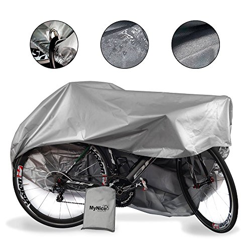 MyNiceOption Funda para bicicleta impermeable –...