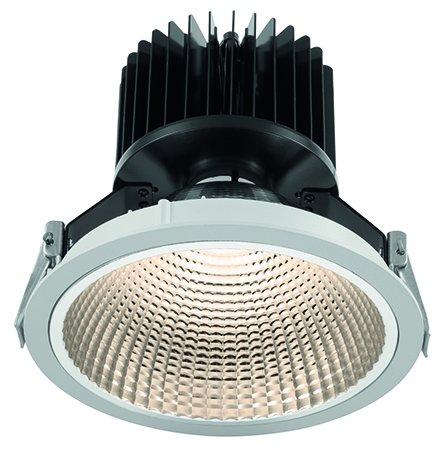 Wiva Lighting Downlight WPL Argile Fixed 40W WW Leuchtstofflampe weiß -
