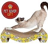 Animals Favorite El Rascador de Cartón para Gatos