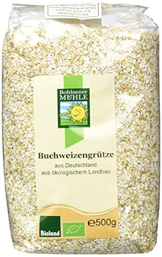 Bohlsener Mühle Buchweizengrütze aus Deutschland, 1er Pack (1 x 500g) -
