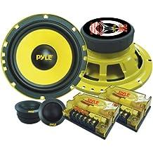 Pyle PLG6C - Pareja de altavoces de de 400 vatios