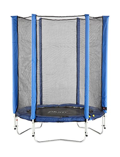 Plum Products Junior Trampoline and Enclosure (Blue)