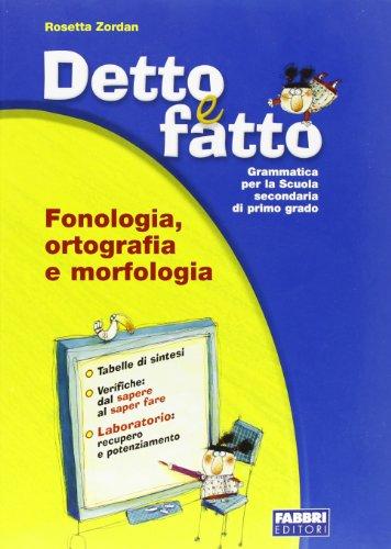 Detto E Fatto Set (Morfologia+Vacanza