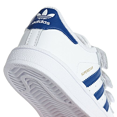 adidas Originals Superstar CF I Kleinkind-Sneaker White/Equipment Blue White/Equipment Blue
