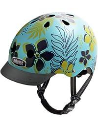 Nutcase NTG3 - Casco de ciclismo unisex multicolor Hula Blue Talla:S (52 - 56 cm)