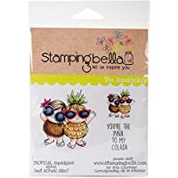 """Stamping Bella Cling Stamp 6.5""""X4.5""""-Tropical Squidgies"""