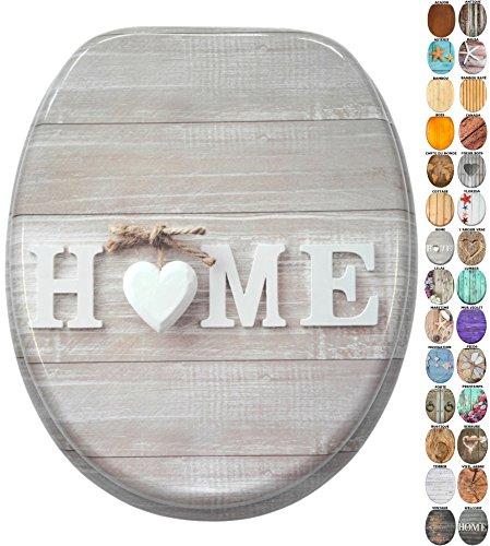 Abattant WC   Grande sélection de abattants wc en bois   Finition de haute qualité (Home)